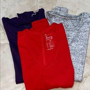 3/$15 BUNDLE Long Sleeves shirts 👚 3/$15